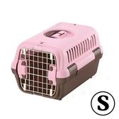 [寵樂子] 日本RICHELL 外出運輸提籠S號粉紅色