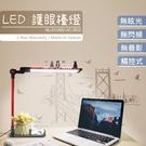 台灣製造 護眼檯燈 閱讀/工作/桌燈/檯燈/台燈 居家環境,閱讀寫字,工作繪圖 面均光 NLUD10BD-AC-RED