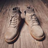 馬丁靴男潮鞋男鞋高筒鞋英倫風