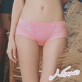【露娜斯】蜜香之戀。舒適三角內褲【粉】台灣製P308