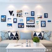 壁畫 北歐風格墻體墻面家裝飾品創意客廳房間背景墻壁掛件走  莫妮卡小屋 YXS