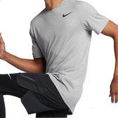 Nike AS M NK BRT 男 灰 短袖 運動上衣 短T 大學T 乾爽 快乾 休閒 運動服飾 832837092