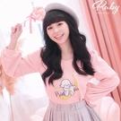 上衣 Ruby x AKB48TeamTP設計‧啾啾羊長袖上衣-Ruby s 露比午茶