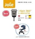 (送pact輕便型推車)奇哥 Joie i-Spin360 isofix 0-4歲汽座【六甲媽咪】