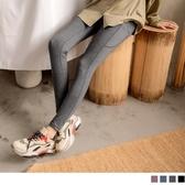 《BA5829》純色高腰彈力口袋吸濕排汗窄管緊身長褲 OrangeBear