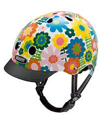 美國 Nutcase 彩繪安全帽-兒童系列-繽紛花朵 (頭圍48-52公分)
