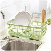 碗櫃居家家廚房放碗架瀝水架置物架塑料收納架餐具架子碗筷收納盒碗櫃LX聖誕交換禮物