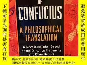 二手書博民逛書店The罕見Analects of Confucius: A Ph