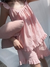 夏季可愛薄款吊帶睡衣女夏性感純棉短褲兩件套夏天睡裙家居服套裝 新北購物城