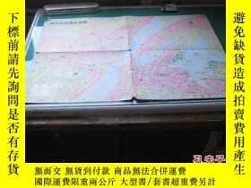 二手書博民逛書店罕見武漢市交通旅遊圖:1992年10月第2版Y205795 武漢