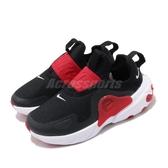 Nike 休閒鞋 React Presto Extreme PS 黑 紅 童鞋 中童鞋 無鞋帶設計 運動鞋 【ACS】 CD6885-002