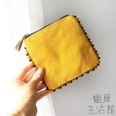 流蘇花邊衛生巾包收納包便攜隨身可愛小清新簡約【極簡生活】