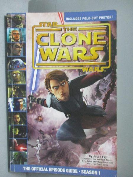 【書寶二手書T6/兒童文學_XEP】Star Wars-The Clone Wars The Official…_Jas