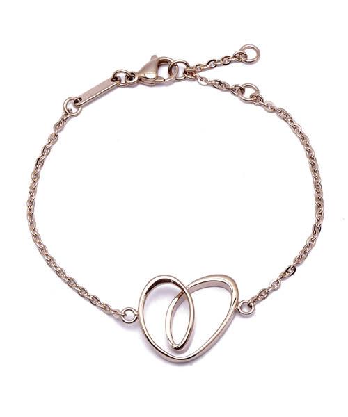 CK Jewellery WARM 溫情系列愛戀湧現玫瑰金手鍊(KJ5APB100100)