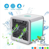 【土城現貨】ArticAirCooler夏天迷妳空調電風扇製冷加水靜音USB電腦桌面  伊蘿