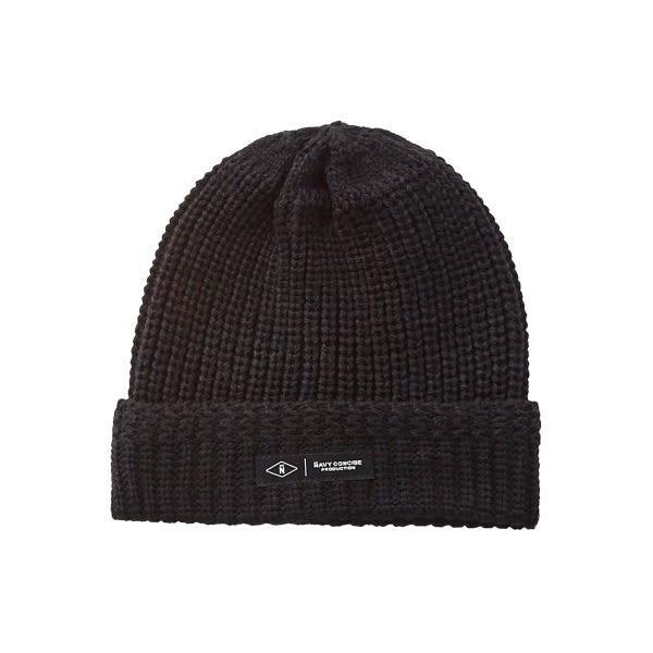 CACO-織標款毛帽(兩色)-男【QNC038】