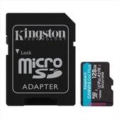 新風尚潮流 【SDCG3/128GB】 金士頓 128GB 手機記憶卡 U3 A2 每秒讀170MB寫90MB