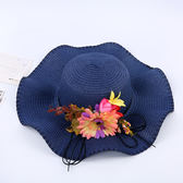 雙12購物節   帽子女夏天韓版百搭防曬沙灘帽子出游海邊大沿帽遮陽帽草帽太陽帽   mandyc衣間