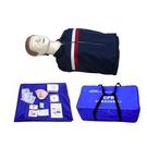 半身心肺復蘇模擬人心臟急救人體訓練模型電子計數人工呼吸假人