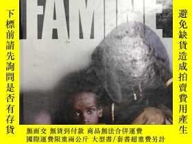 二手書博民逛書店1994年版罕見FAMINE 饑荒 精裝英文版 歷史上的饑荒災難 庫存舊書Y259256 CHRISTOPHE