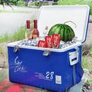 【28L休閒冰箱】免運 行動冰桶 釣魚 保冰桶 保溫桶 露營用 夏日 小冰箱 TH-285 [百貨通]
