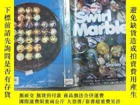 二手書博民逛書店Antique罕見Glass Swirl MarblesY320