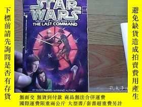 二手書博民逛書店STAR罕見WARS THE LAST COMMANDY1001