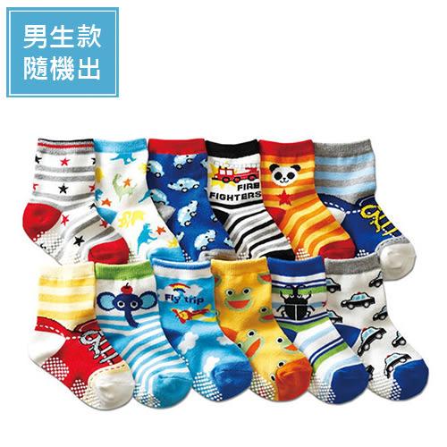 尼森男女童可愛童襪 0-3歲 防滑襪