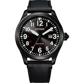 CITIZEN 星辰 光動能飛行家手錶-42mm BM6835-23E