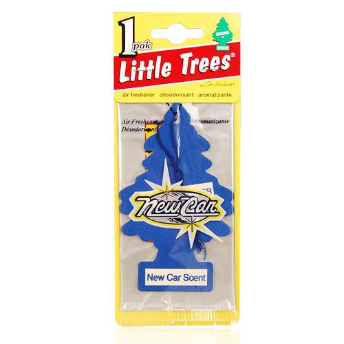 LITTLE TREES 美國小樹香片-新車香味New Car Scent(10g)【美麗購】