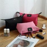 化妆包—買一送一 韓國簡約隨身收納包便攜小號多功能大容量旅行口紅化妝包洗漱袋女 依夏嚴選