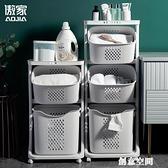 臟衣籃分層家用臟衣服收納筐衛生間ins風臟衣簍行動洗衣籃置物架NMS【創意新品】