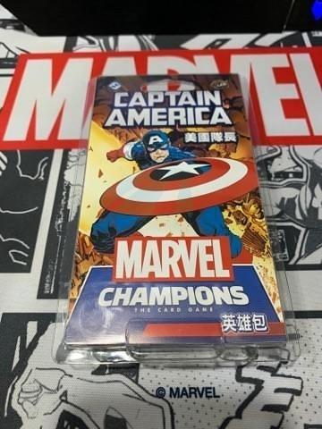 『高雄龐奇桌遊』漫威傳奇再起 英雄包 美國隊長 Captain America 繁體中文版 正版桌上遊戲專賣店