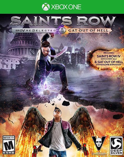 X1 Saints Row IV: Re-Elected + Gat out of Hell 黑街聖徒 4:再次當選(美版代購)