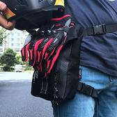 Motocentirc摩托車騎行大腿包機車腰包戶外背包防水可拆時尚腿包