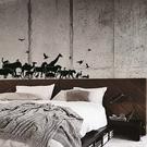無痕壁貼【WD-007 非洲大地】創意壁貼 無毒無痕 不傷牆面 創意壁貼 英國設計 窗貼