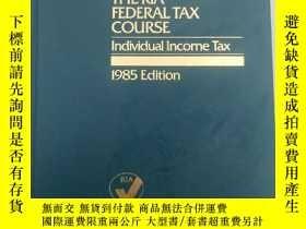 二手書博民逛書店The罕見Ria Federal Tax Course indi