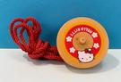 【震撼精品百貨】Hello Kitty 凱蒂貓~三麗鷗 KITTY木製陀螺玩具*30705