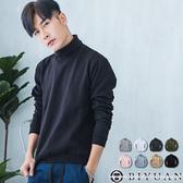 翻領螺紋大學T【JG6457】OBIYUAN 素面刷毛長袖T恤 衣服 共8色