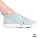 New Balance 新竹皇家 247 天藍 彈性網布 繃帶 套入式 運動鞋 女款 NO.I8906