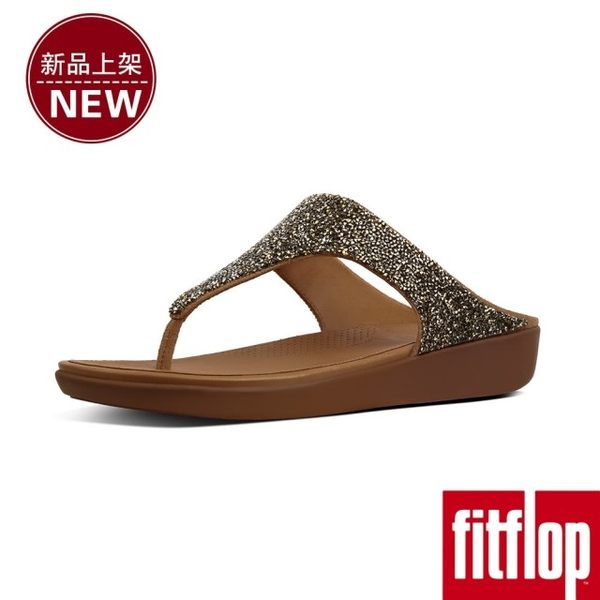 【FitFlop】BANDA II QUARTZ TOE-THONGS(金色)