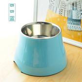 寵物碗 狗狗高腳碗泰迪斗牛貓咪飯盆食碗喝水碗小中型犬高架碗貓碗飯餐桌
