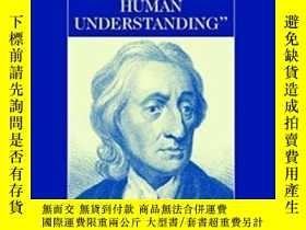 二手書博民逛書店The罕見Cambridge Companion To Locke s Essay Concerning Huma