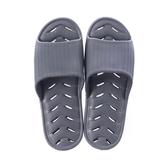 緩壓排水浴室拖鞋94001-灰藍XL