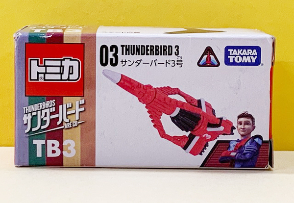【震撼精品百貨】 TOMICA多美~TOMICA THUNDERBIRDS 飛機03#83926