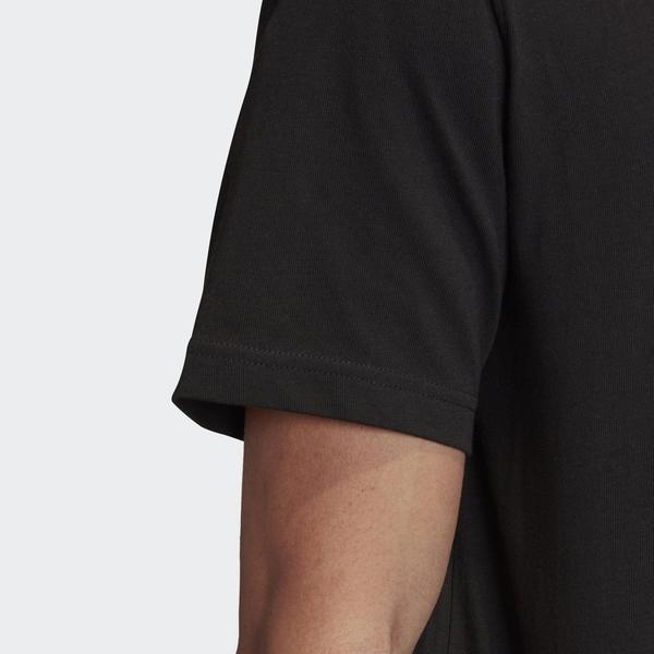 ADIDAS TREFOIL SKETCH TEE 男裝 短袖 休閒 棉質 手繪 百搭 黑【運動世界】FM3376
