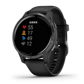 【岱宇國際Dyaco】VENU AMOLED GPS 智慧腕錶-石墨黑