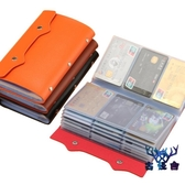卡包大容量多卡位多功能防消磁卡包證件卡套名片夾錢包【古怪舍】