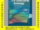 二手書博民逛書店3-D罕見Structural GeologyY405706 Richard H. Groshong ISB