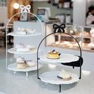 英式下午茶點心架多層蛋糕架ins風甜品架網紅蛋糕店拍照道具托盤 - 古梵希